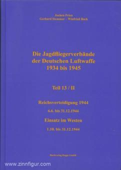 Prien, J./Rodeike, P./Stemmer, G./Bock, W.: Die Jagdfliegerverbände der deutschen Luftwaffe 1934-1945. Teil 13/2: Reichsverteidigung 6.6. bis 31.12.1944. Einsatz im Westen - 1.10. bis 31.12.1944
