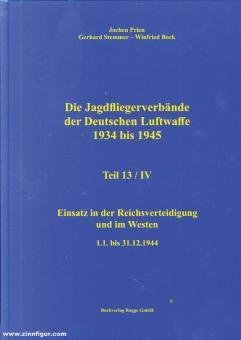 Prien, Jochen/Stemmer, Gerhard/Bock, Wilfried: Die Jagdfliegerverbände der deutschen Luftwaffe 1934-1945. Teil 13/4: Einsatz in der Reichsverteidigung und im Westen 1.1. bis 31.12.1944