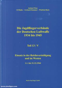 Prien, Jochen/Stemmer, Gerhard/Bock, Wilfried: Die Jagdfliegerverbände der deutschen Luftwaffe 1934-1945. Teil 13/5: Einsatz in der Reichsverteidigung und im Westen 1.1. bis 31.12.1944