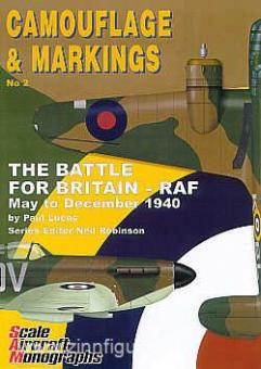 Lucas, P./Robinson, N. (Hrsg.): Camouflage & Markings. Heft 2: The Battle for Britain - RAF. May to December 1940