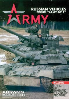 """Kuzmin, Vitaly V.: Abrams Squad References. Heft 2: Russian Vehicles. Forum """"Army-2017"""""""