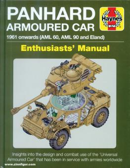 Dunstan, Simon: Panhard AML and Eland 1961 onwards (AML 60 and AML 90). Enthusiasts' Manual. Insight into the design, construction and operation of the AML that has been in continuous service since 1961 with 52 nations