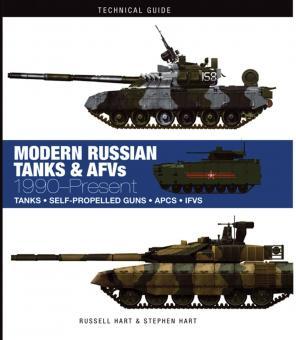 Hart, Russel/Hart, Stephen: Modern Russian Tanks & AFV 1990-Present. Tanks - Self-Propelled Guns - APCS - IFVS