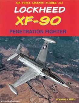 Simone, William: Lockheed XF-90 Penetration Fighter