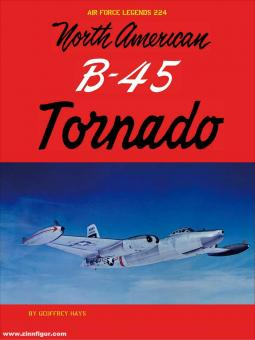 Hays, Geoffrey: North American B-45 Tornado