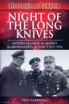 Carradice, Phil: Night of the Long Knives. Hitler's Excision of Rohm's SA Brownshirts, 30 June-2nd July 1934