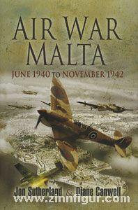 Sutherland, J./Canwell, D.: Air War Malta. June 1940 to November 1942