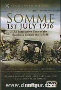 Stedman, M.: Somme, 1st July 1916. An interactive Tour of the Southern Somme Battlefield