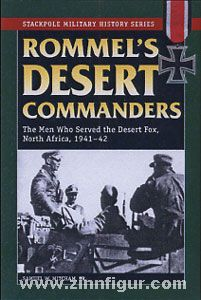 Mitcham Jr., S. W.: Rommel's Desert Commanders