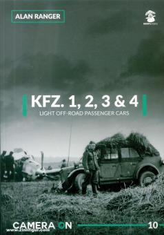 Ranger, Alan: Kfz. 1, 2, 3 & 4. Light Off-Road Passenger Cars