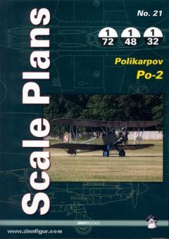 Karnas, D: Scale Plans. Heft 21: Polikarpov Po-20