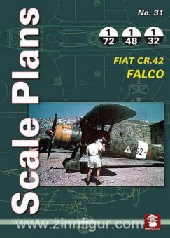 Karnas, D.: Scale Plans. Heft 31: Fiat CR.42 Falco