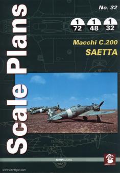Karnas, D.: Scale Plans. Heft 32: Macchi C.200 Saetta