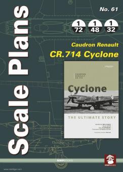 Strzelczyk, Francizek (Illstr.)/Bobkowski, Tomasz (Illustr.): Scale Plans. Heft 61: Caudron Renault Cr.714 Cyclone