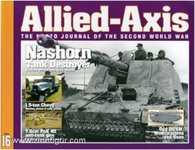 Allied-Axis. The Photo Journal of the Second World War. Heft 16