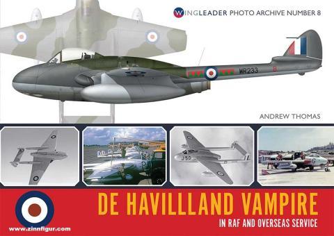 Thomas, Andrew: De Havilland Vampire in RAF and Overseas Service