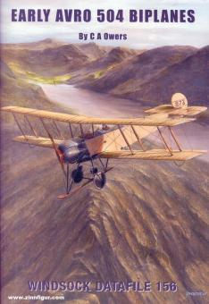 Owers, C. A.: Early Avro 504 Biplanes