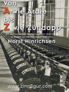 Hinrichsen, H.: Von A wie Ardie bis Z wie Zündapp