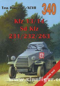 Ledwoch, J.: Kfz 13/14 (4x2), Sd.Kfz. 231/232/263 (6x4)