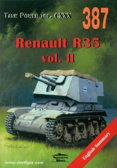 Ledwoch, J.: Renault R35/R39/R40. 4,7 cm Pak (t) auf PzKpfW 35R(f) ohne Turm. Band 2