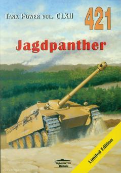 """Ledwoch, J.: Panzerjäger 8,8 cm Pak 43/3 auf Fgst """"Panther"""" Sd Kfz 173 """"Jagdpanther"""""""