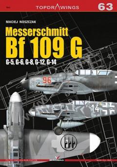 Noszcza, Maciej: Messerschmitt Bf 109 G. G-5, G-6, G-8, G-12, G-14