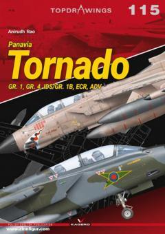 Rao, Anirudh: Panavia Tornado GR. 1, GR. 4, IDS/GR. 1B, ECR, ADV