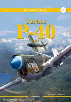 Camouflage & Decals. Band 4: Curtiss P-40. Band 1