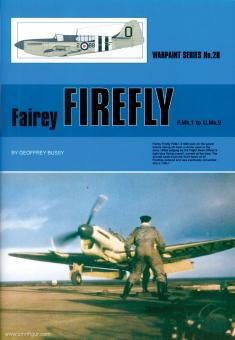 Bussy, Geoffrey: Fairey Firefly F.Mk.1 to U.Mk.9