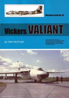 Buttler, Tony: Vickers Valiant