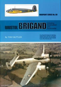 Buttler, Tony: Bristol Brigand, including Buckingham and Buckmaster