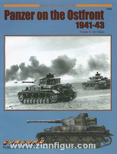 Feenstra, J.: German Armor on the Ostfront 1941-1943