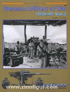 De Sisto, F. V.: German Artillery and Flak at War 1939-45. Teil 2