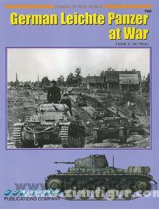 De Sisto, F. V.: German Light Panzer at War