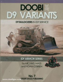 Mass, M./O'Brien, A.: Doobi D9 Variants. D9 Bulldozer in IDF Service