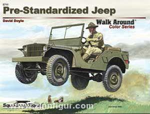 Pre-Standardized Jeep walk around
