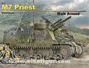 M7 Priest walk around