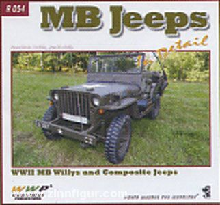Korán, F./Horák, J.: MB Jeeps in detail. WW2 Willys and Composite Jeeps