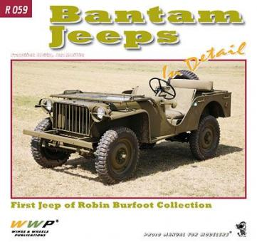 Korán, F./Mostek, J.: Bantam in Detail. Bantam Jeep of European Private Collections
