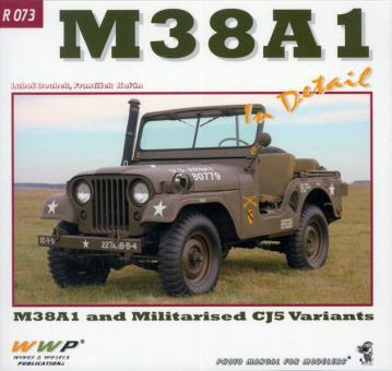 Doubek, L./Koran, F.: M38A1 & CJ5 Jeeps in Detail. Lubos Doubek's M38A1 und Mark Hazard's IDF CJ5 Fine Restored Jeeps