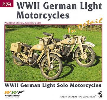 Koran, F./Votik, J.: WW2 German Light Motorcycles in Detail. WW2 Light Solo Motorcycles
