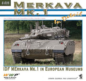Merkava Mk. 1B in Detail. IDF Merkava Mk. 1 in european Museums
