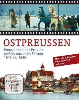 Pölking, H.:: Ostpreußen. Panorama einer Provinz erzählt aus alten Filmen 1913-1948. 5 DVDs