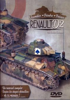 Assembler, Peindre et Patiner le Renault D2