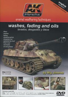 Jimenez, M.: Enamel Weathering Techniques. Washes, fading and oils