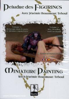 Peindre des Figurines. Avec Jeremie Bonamant Teboul. Teil 2: Peinture dans le frais et dessins a main levee