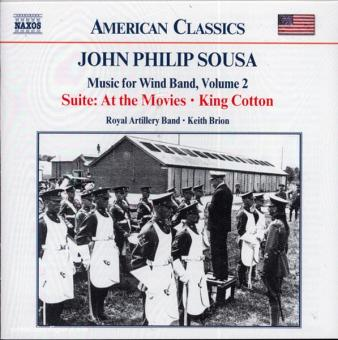 John Philip Sousa. Music for Wind Band. Teil 2 (USA)