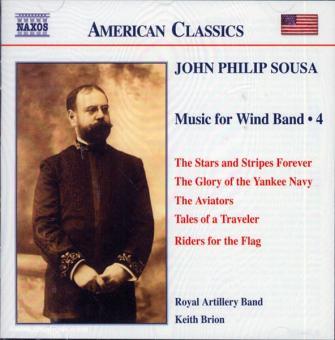 John Philip Sousa. Music for Wind Band. Teil 4 (USA)