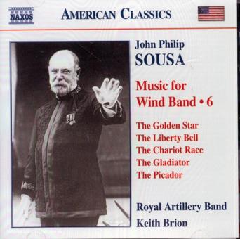 John Philip Sousa. Music for the Wind Band. Teil 6 (USA)
