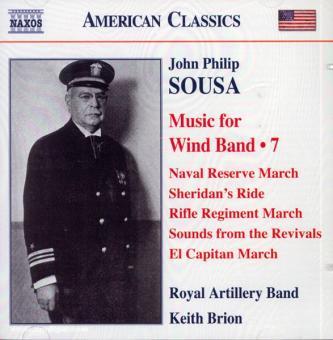 John Philip Sousa. Music for Wind Band. Teil 7 (USA)